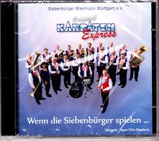"""CD - neu & ovp - """" Original Karpaten Express - Wenn die .... - BLASMUSIK """" rar"""