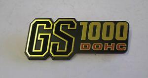 Fits Suzuki GS1000 DOHC genuine Seitenwand Emblem