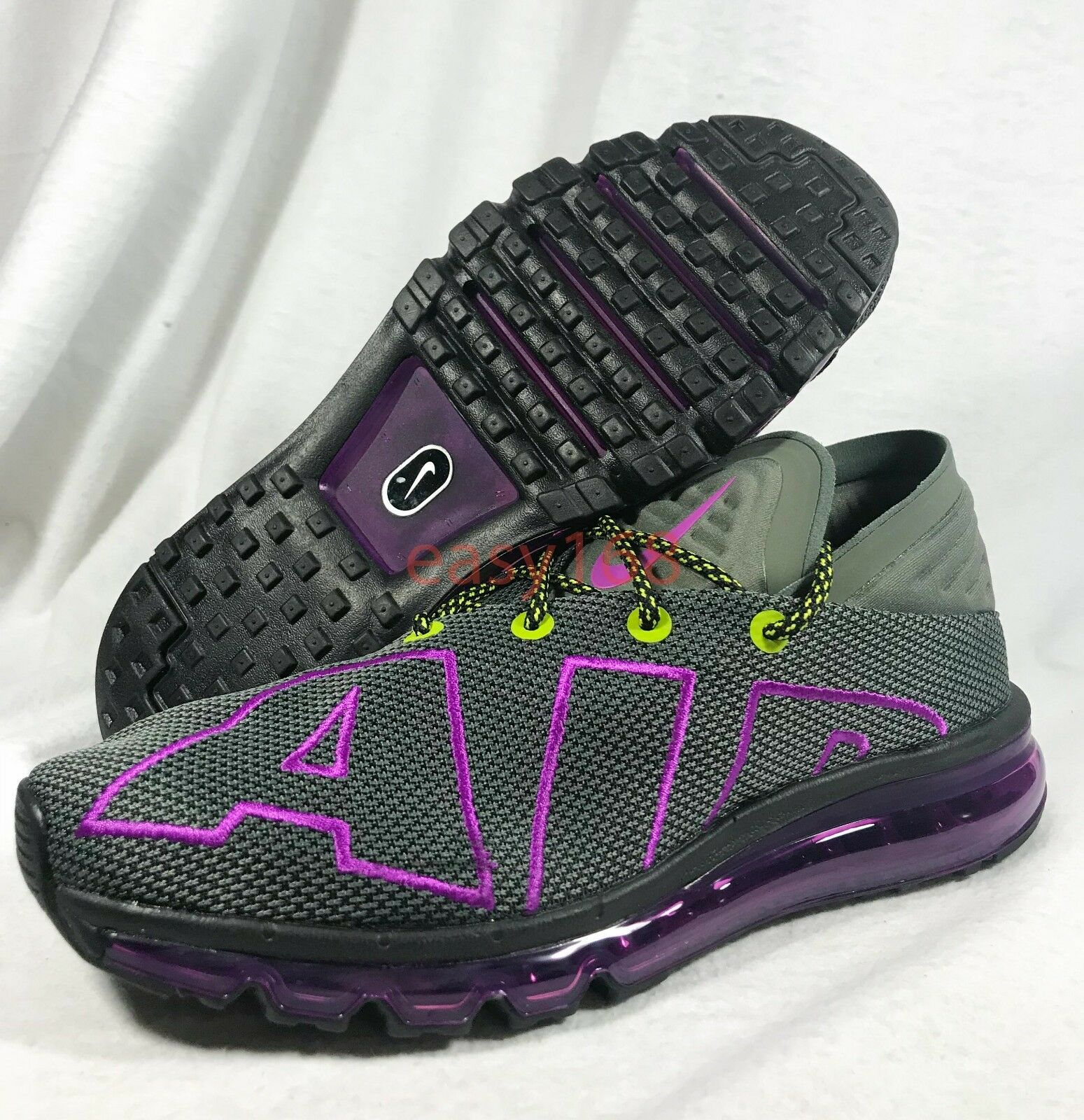 f2a871e371cbe NEW NEW NEW Air Max Flair Sz 8.5 Men s 42 Purple AH9711 Vapormax 360  Running Sportswear