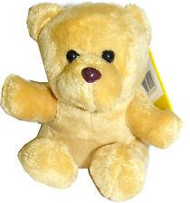 Ark Toys Small Plush Bean Bag Soft Toy Plush TEDDY BEAR (Light Tan) 12cm