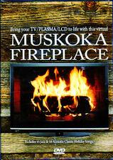 MUSKOKA FIREPLACE: VIRTUAL HD CHRISTMAS HOLIDAY DVD with BONUS JAMAICA WATERFALL