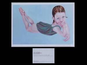 Nicky Hoberman - Carton Invitation Exposition - 1999 - Galerie Almine Rech