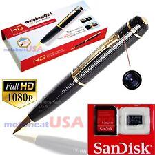 32GB FULL HD 1080P Spy Pen Mini Hidden Camera Video/Voice Cam DV/DVR Recorder