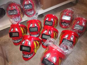 Teufel-Rot-Maske-Vereine-Gruppen-Fastnacht-Fasching-Karneval-Ex-Schweissmaske