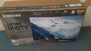 Samsung-8-Series-UN65NU8500-65-034-4K-Curved-UHD-Smart-TV-Broken-Screen-For-Parts