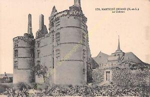 CPA 49540 MARTIGNé BRIAND le Château Edit GOUBIN FAURE