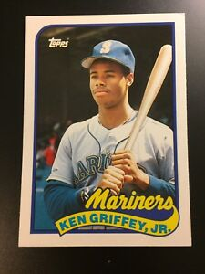 Details About 1989 Topps Traded Complete Baseball Card Set Griffey Johnson Rookies