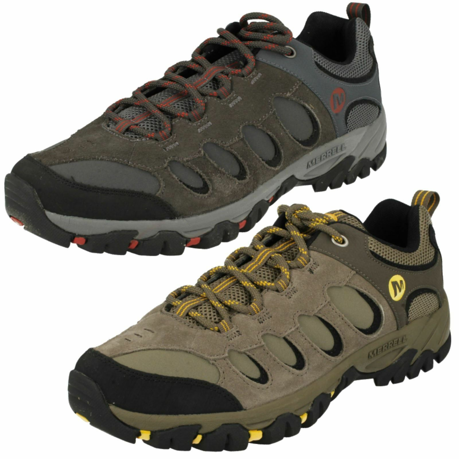 Mens Merrell Casual Lace Up Trainers Ridgepass Bolt