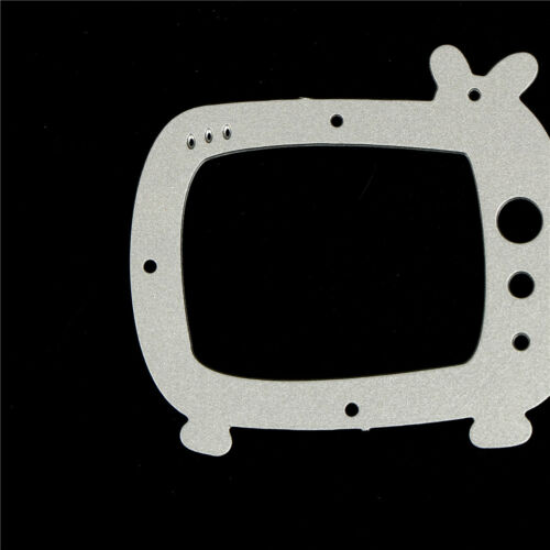 Delicate Television Framed Cutting Dies For Scrapbooking Card Craft DecorT2~s3