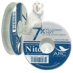Arc Peche Fluoro Nxt Pêche à La Mouche Tippet 7x - 2.6 Lb (environ 1.18 Kg)-afficher Le Titre D'origine