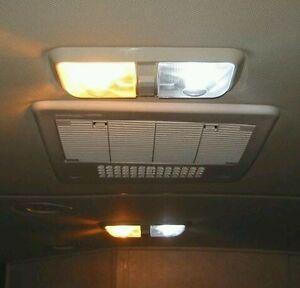 2 pure white led 12v interior lights rv camper motorhome trailer