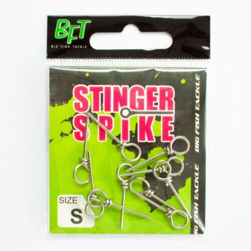 BFT Stinger Spikes Angstdrilling Nadeln Stifte Gummifisch Shads Montage 10 Stück