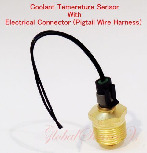 Coolant Temperature Sensor w// Electrical Connector Fits Detroit Diesel Serie 60