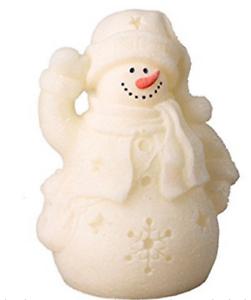 Noël Bonhomme de neige DEL SIM Candle Light battant Décoration De Table Lampe