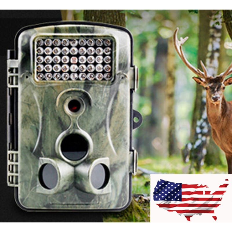 New RD1000 Waterproof Trail Camera 1080P HD 12MP Hunting Scouting LED Night