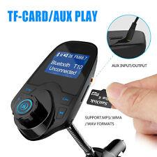 Bluetooth Auto KFZ Musik MP3 Player FM Transmitter Freisprechanlage USB LCD Neu