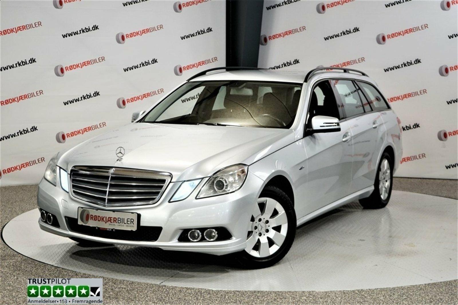 Mercedes E200 2,2 CDi stc. aut. BE 5d - 129.900 kr.