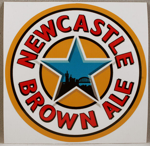 Newcastle brown ale sticker british beer decal stick on vehicles laptops ebay