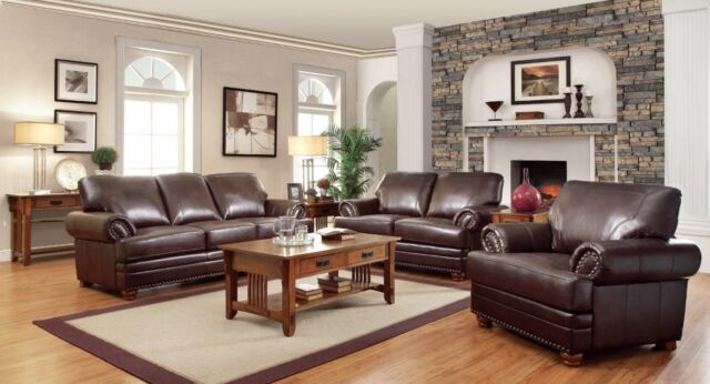 Bonded Leather Sofa Loveseat Chair