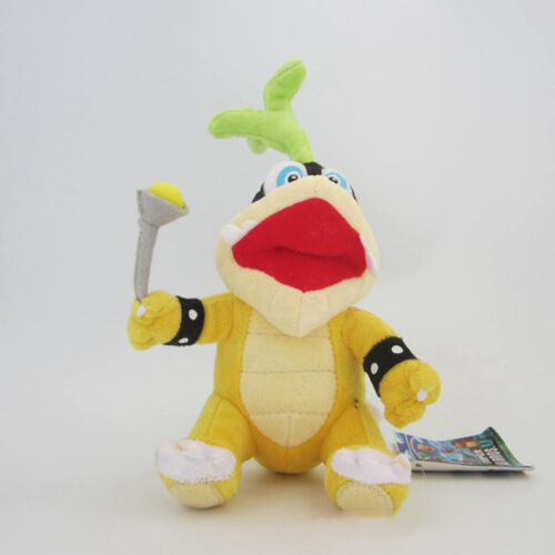 Koopalings Super Mario Bros Roy Remy Morton Soft Stuffed Animal Plush Toy Doll