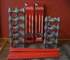 9 Kerzenständer Quist Nagel BMF mit Gies Lucia Leuchter Kerzen grün weiß