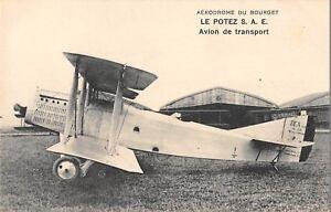 CPA-AERODROME-DU-BOURGET-LE-POTEZ-AVION-DE-TRANSPORT