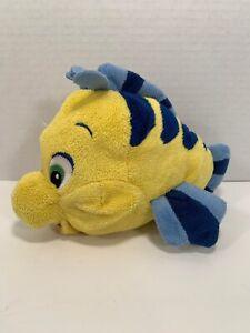 Disney-Little-Mermaid-Yellow-Flounder-6-Plush