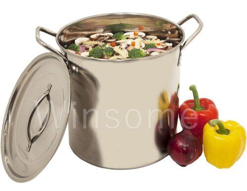 Acier inoxydable légumes Soupe au poulet à bouillir MARMITE BOUILLANTE Pan avec couvercle