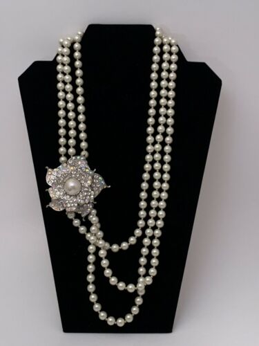 Vintage  Arnold Scaasi Couture Runway Necklace / … - image 1