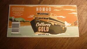 AUSTRALIAN-BEER-LABEL-NOMAD-BREWERY-SYDNEY-COLLAROY-GOLD-GOLDEN-ALE