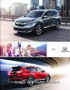 2017 Honda CRV CR-V 18-page Original Car Sales Brochure Catalog
