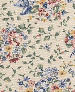 Longaberger-79-04-Small-Fruit-Basket-Spring-Floral-Fabric-Liner-NIP