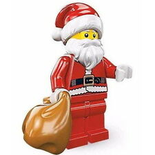 "COLLECTIBLE MINIFIGURE Lego Series 8 ""SANTA CLAUS"" NEW Genuine Lego 8833"