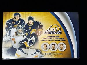 NHL-Buffalo-Sabres-2006-07-Complete-Medallion-Coin-Collection