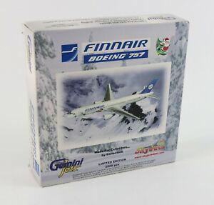 NEW-Gemini-Jets-034-FINNAIR-BOEING-757-200-034-Diecast-1-400-Scale-Airplane-OH-LBR