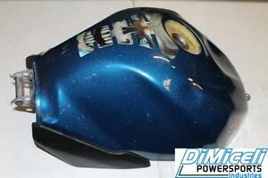Details about 04 05 2004 2005 SUZUKI GSXR 600 BLUE GAS TANK FUEL CELL  PETROL RESERVOIR OEM