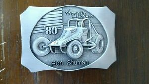 "1979 KNOXVILLE NATIONALS ""Ron Shuman"" limited #30 Belt Buckle"