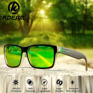40ab89787e4 Kdeam 9 Colors Men Sport Polarized Sunglasses Women Driving Square ...