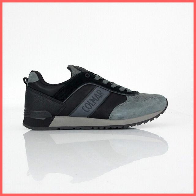 COLMAR ORIGINALS scarpe uomo TRAVIS RUNNER PRIME 041 col. NEROGRI inverno 2019