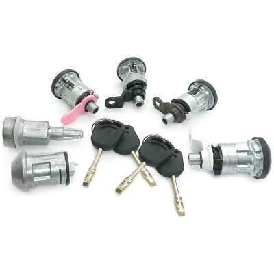 1994-2000 Complete 6 Lock Set /& 2 Keys For Ford Transit 2.9 2.0 2.5 Di TD TDI