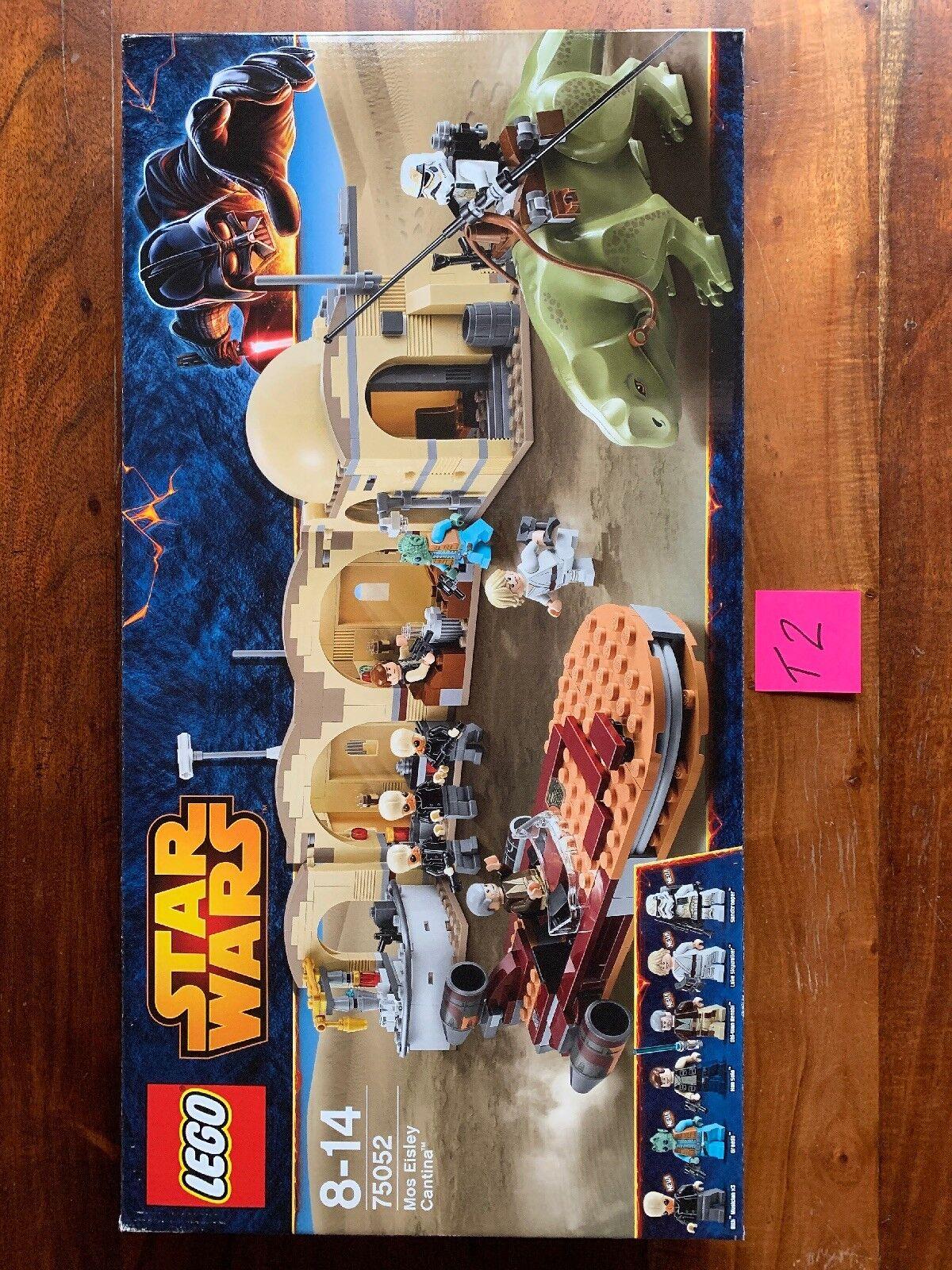 LEGO 75052 Star Wars Mos Eisley Cantina - Retired 2014 BNISB Factory sealed - T2
