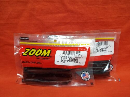 2 PCKS ZOOM Fish Doctor #003-096 Scuppernong 20cnt