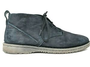 Born Blue Suede Casual Chukka Boots