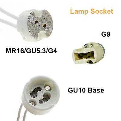 50x New Regulation Low Voltage MR16 MR11 Lamp Holder Light Fitting Base Socket
