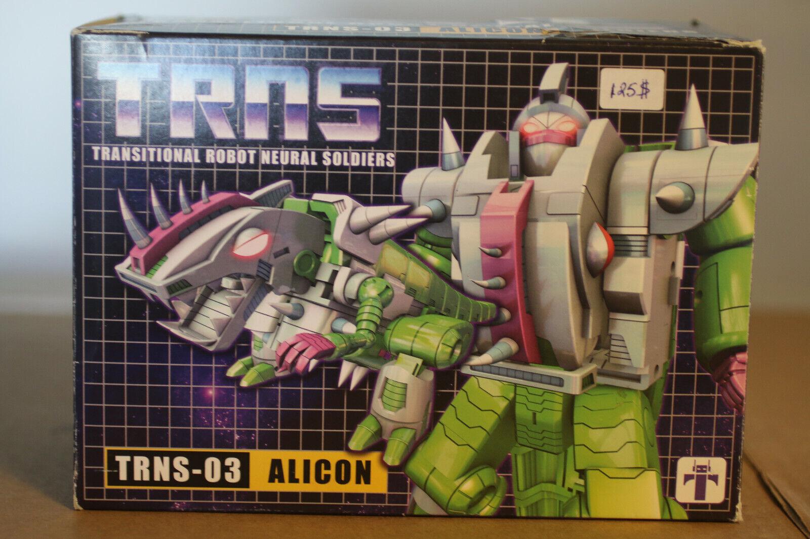 Transformers TRNS - 03 imposible Juguetes Quintesson Alicon Completo En Caja