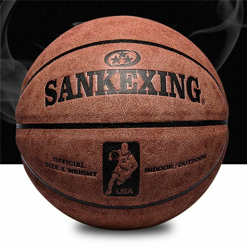 Basketball Professional Basketball Ball Size 7 Leather Indoor Outdoor Anti-slip