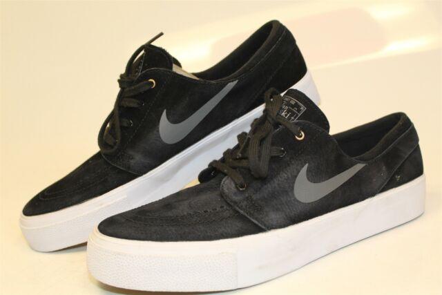 Nike SB Zoom Air Stefan Janoski Mens EUC 10.5 44.5 Suede Skate Shoes  854321-007