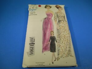 Vintage-Sewing-Pattern-McCall-039-s-Size-14-Bust-34-Hip-36-Evening-Dress-5704-S5880