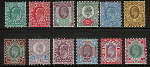 Great-Britain-Stamp-Set-Scott-127-to-138-127-38-Mint-Hinged-Definitives