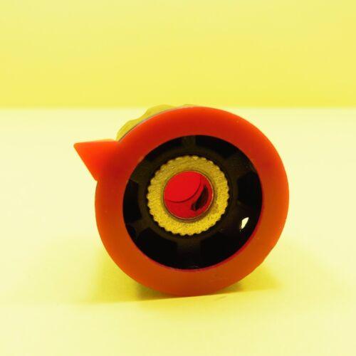 23mm Red Plastic Potentiometer Knob Rotary Taper 6mm Shaft Hole Control